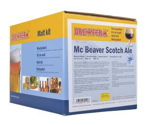 Slad BREWFERM Mc Beaver Scotch Ale na 20 litrů